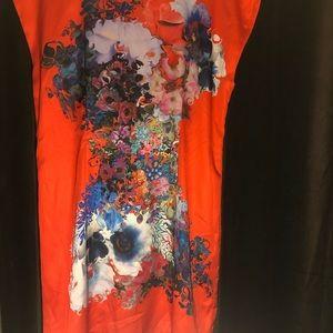 Cynthia Rowley Dresses - Cynthia Rowley Red Spade Dress Size 14